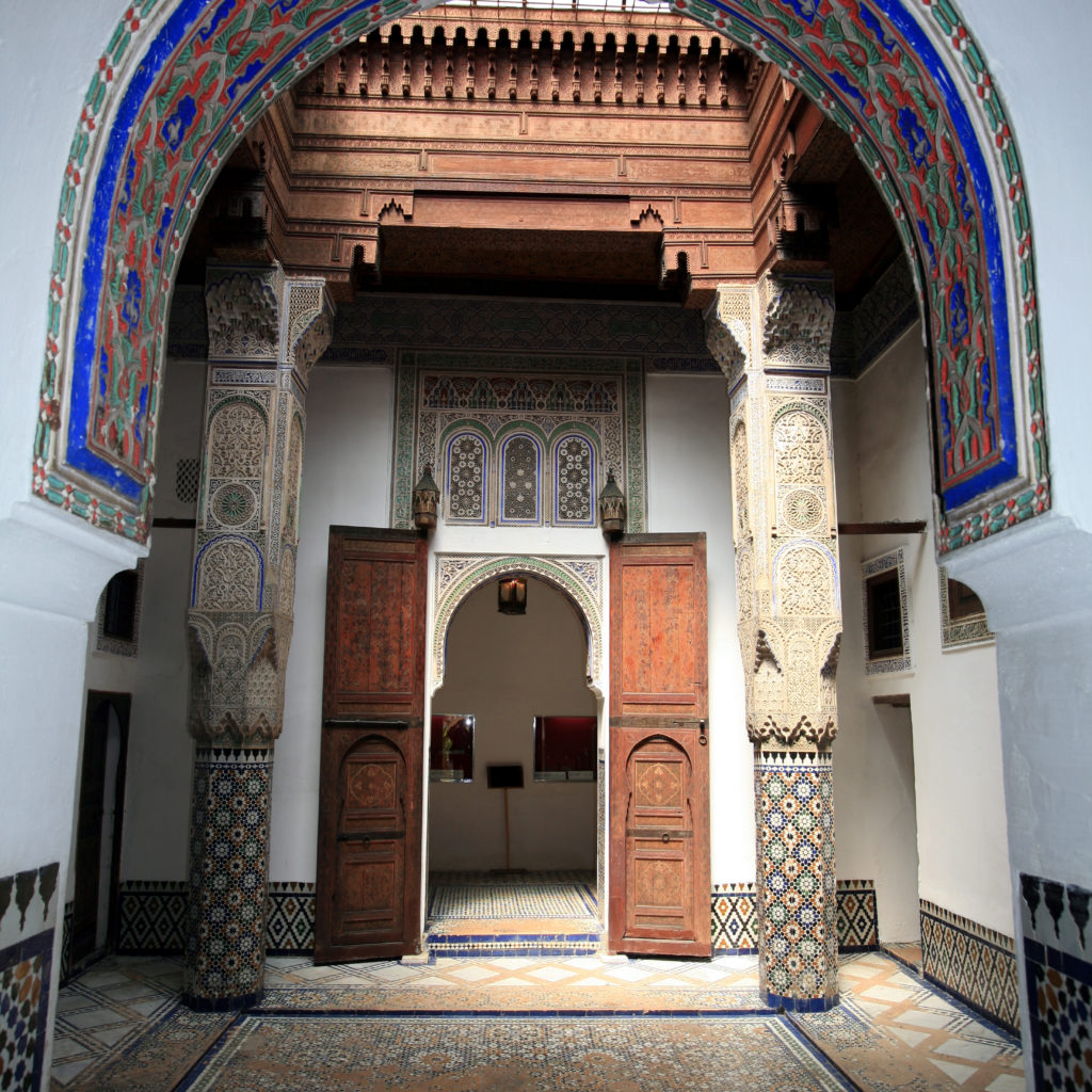 Inside the Dar Jamai Museum